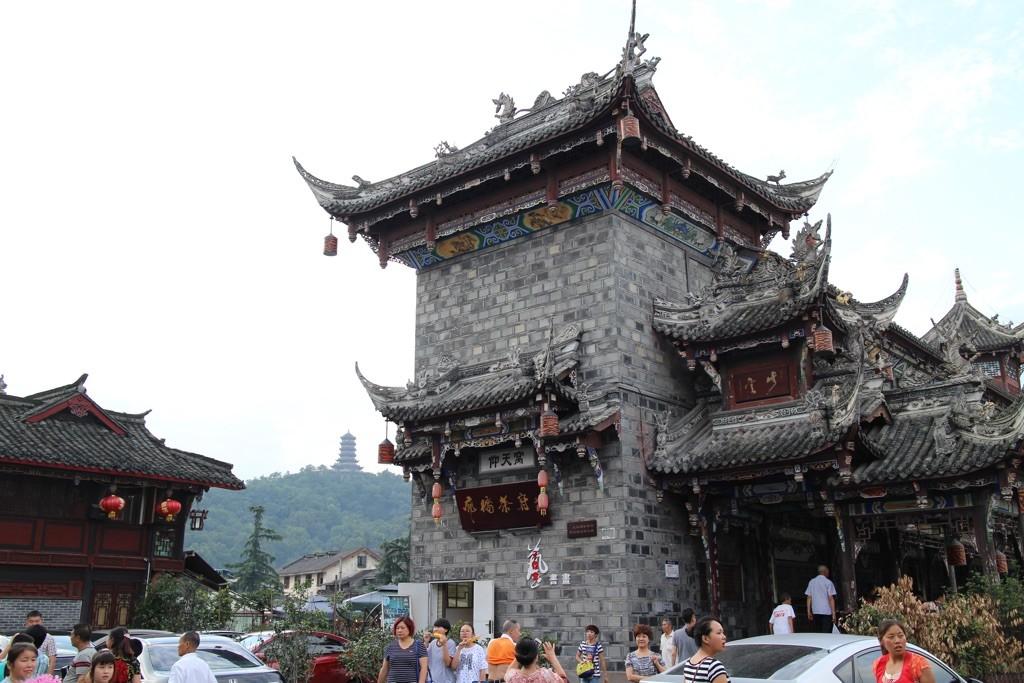 150715 Chengdu gamlebyen