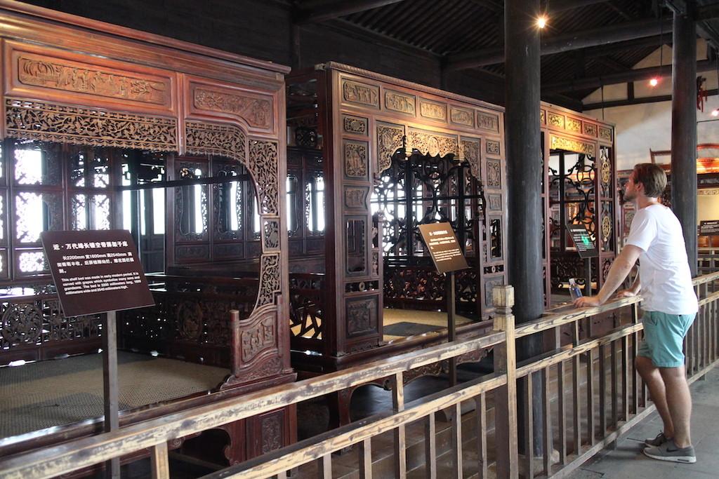 150726 Wuzhen east bed museum