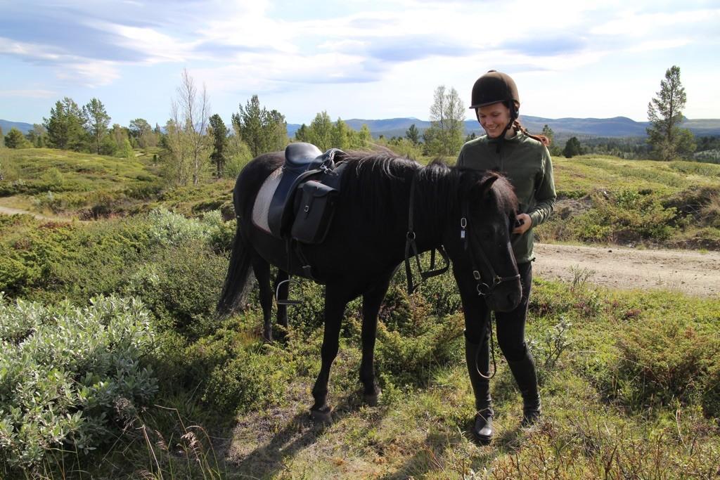 Lena og Svás fra Kvistli på fjelltur