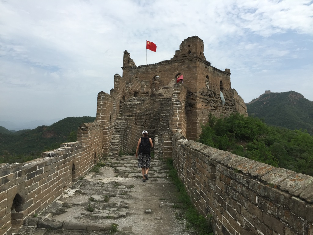 1508 dag 4 Kina-flagg